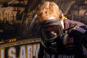 A member of Schumacher Race Team