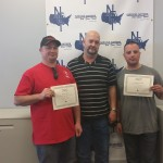 Instructor JD Jackson with students