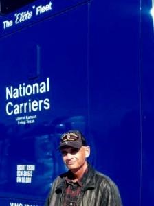 US Veteran and NCI company driver, Ron Wallett