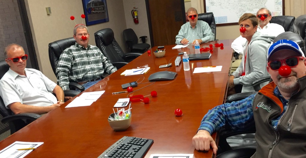 From the our President on down, we hope everyone will participate in Red Nose Day.