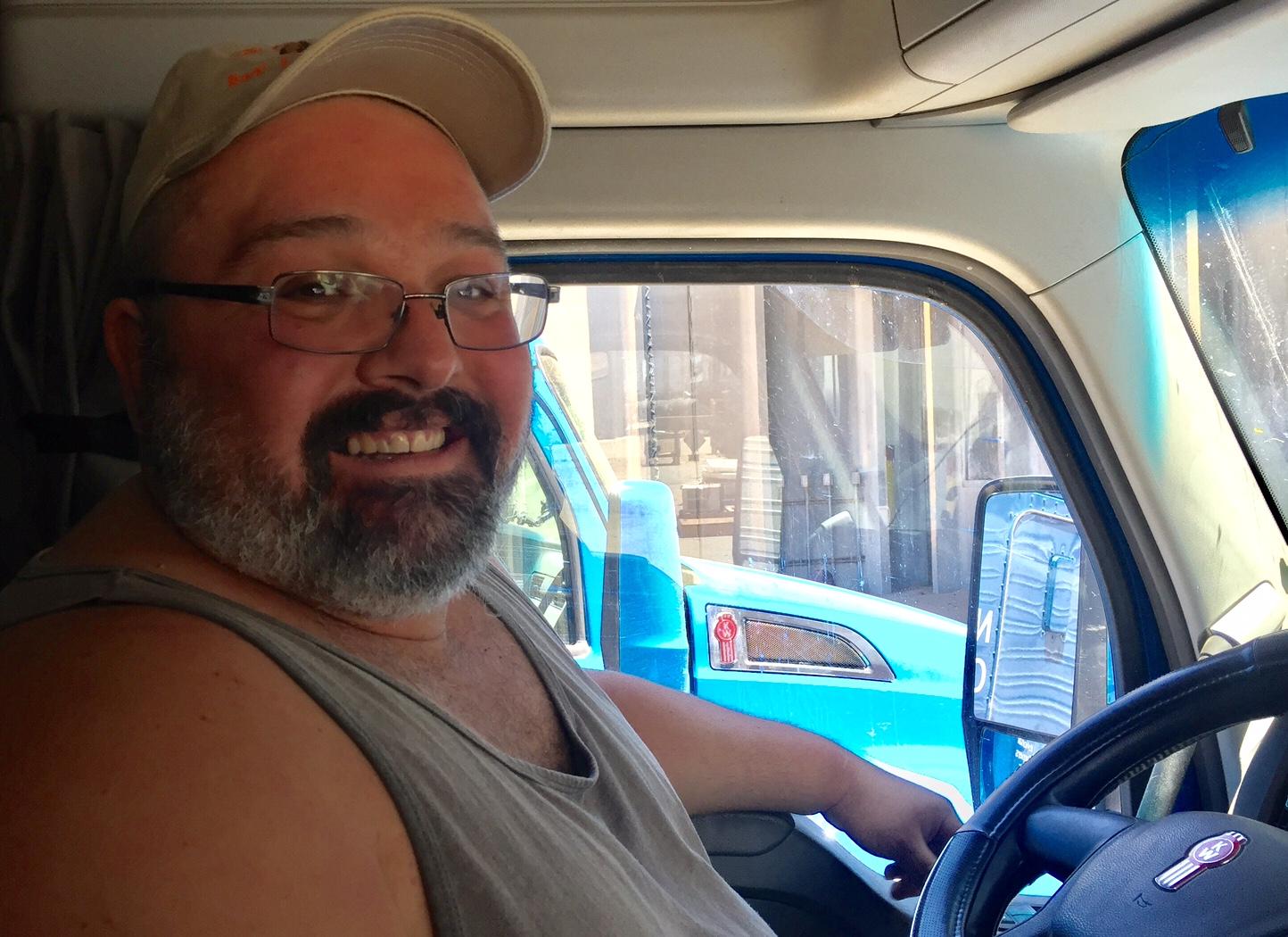 Eric drivers seat closeuo