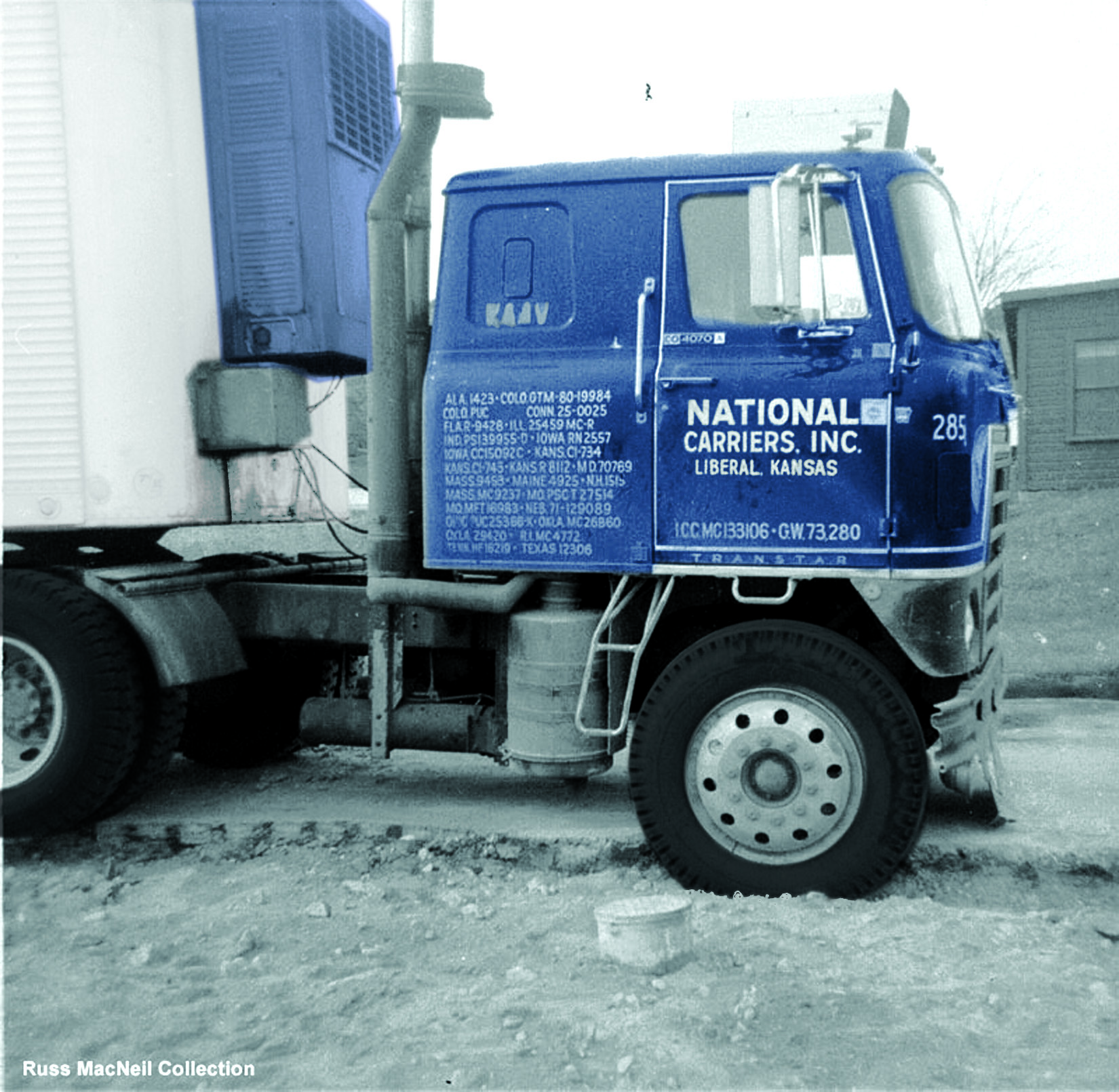 Cabover colorized