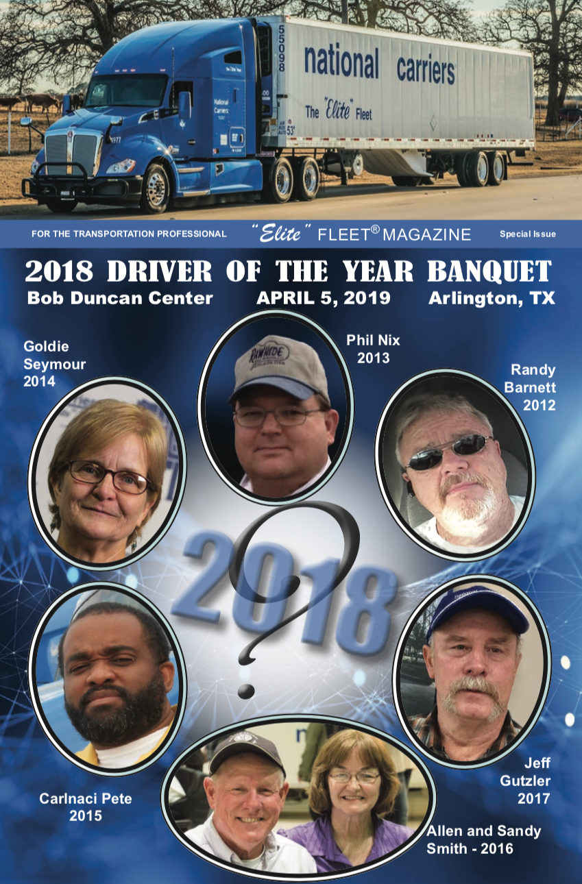 2018 Driver of the Year Banquet